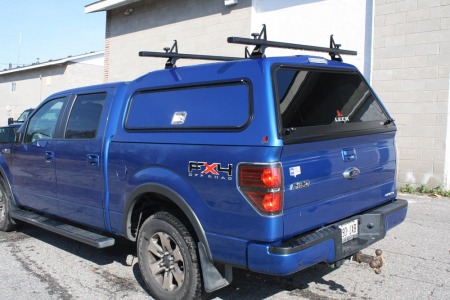 12 F150 - Raider 100RCC with Thule Roof Rack