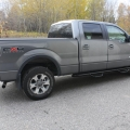 11 F150- NFab Drop Style Side Steps and Retrax Retractable Cover