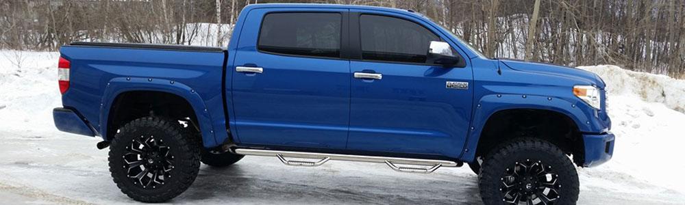 Carter's Blue Truck